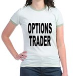 Options Trader (Front) Jr. Ringer T-Shirt