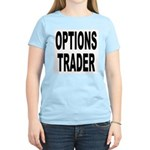 Options Trader (Front) Women's Pink T-Shirt
