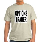Options Trader (Front) Ash Grey T-Shirt
