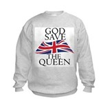 Funny God save the queen Sweatshirt
