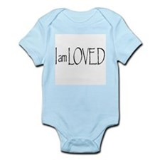 I AM LOVED Infant Bodysuit