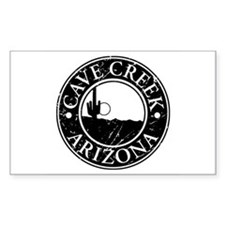 Cave Creek, AZ Rectangle Decal