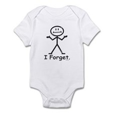 Forgetful Infant Bodysuit