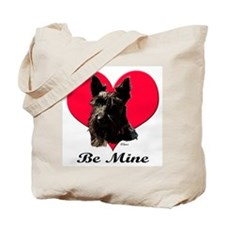 A Scotty Valentine Tote Bag