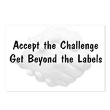 Accept The Challenge v1 Postcards (Package of 8)