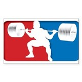 SQUAT LOGO Rectangle Decal