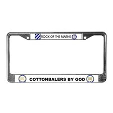 Cottonbaler License Plate Frame