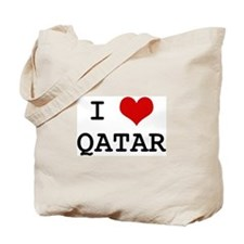 I Heart QATAR Tote Bag
