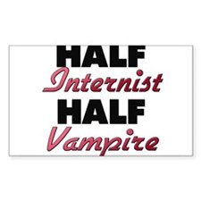 Half Internist Half Vampire Decal