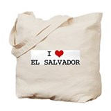 I Heart EL SALVADOR Tote Bag