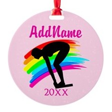AWESOME SWIMMER Ornament