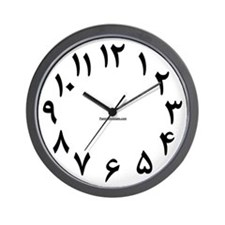 Farsi / Arabic 01 Wall Clock