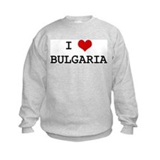 I Heart BULGARIA Sweatshirt