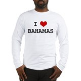 I Heart BAHAMAS Long Sleeve T-Shirt