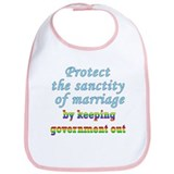 Protect Marriage Bib