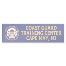 TRACEN Cape May<BR> Bumper Bumper Sticker