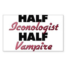 Half Iconologist Half Vampire Decal