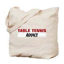 Table Tennis Addict Tote Bag
