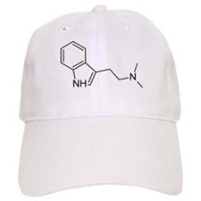 DMT Chemical Structure Baseball Cap
