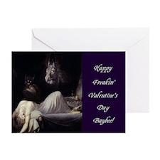 Dream Of Me Valentine (pk 10) Greeting Cards