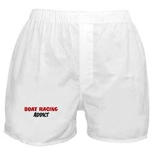 Boat Racing Addict Boxer Shorts
