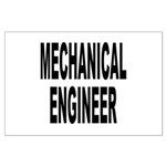 Mechanical Engineer Large Poster
