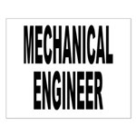 Mechanical Engineer Small Poster