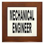 Mechanical Engineer Framed Tile