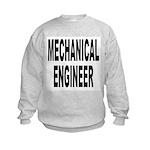 Mechanical Engineer (Front) Kids Sweatshirt