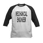 Mechanical Engineer Kids Baseball Jersey