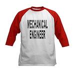 Mechanical Engineer (Front) Kids Baseball Jersey