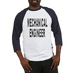 Mechanical Engineer (Front) Baseball Jersey