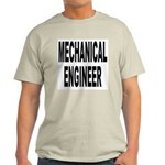 Mechanical Engineer (Front) Ash Grey T-Shirt
