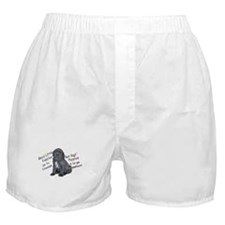 """Good Puppies go to...Bad Puppies..."" Boxer Shorts"