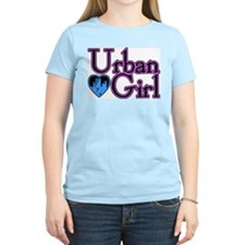 Urban Girl City Life Women's Pink T-Shirt