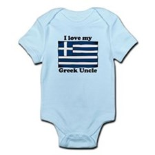 I Love My Greek Uncle Body Suit