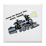 Soul Train Tile Coaster