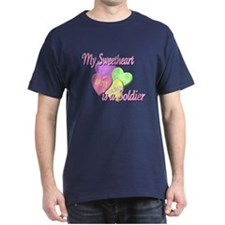 My Sweetheart is a Soldier T-Shirt