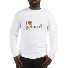 I Love Gelato Long Sleeve T-Shirt