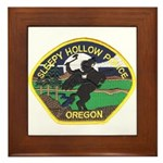 Sleepy Hollow Police Framed Tile