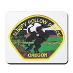 Sleepy Hollow Police Mousepad