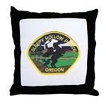 Sleepy Hollow Police Throw Pillow