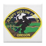 Sleepy Hollow Police Tile Coaster