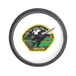 Sleepy Hollow Police Wall Clock
