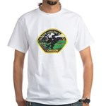 Sleepy Hollow Police White T-Shirt