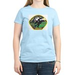 Sleepy Hollow Police Women's Pink T-Shirt