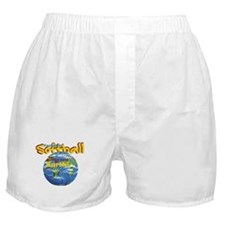 Softball Earth Boxer Shorts