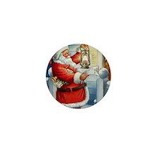 Santa001a Mini Button