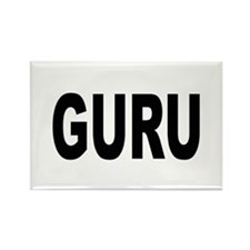 Guru Rectangle Magnet (10 pack)