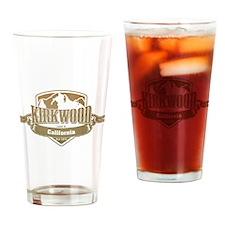 Kirkwood California Ski Resort 4 Drinking Glass